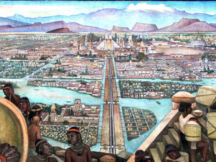 Tenochtitlán - Aztec Capital