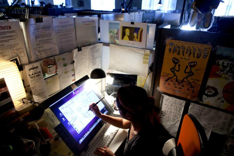 The Simpsons Animation Studio