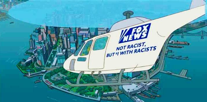 The Simpsons and Fox Jokes