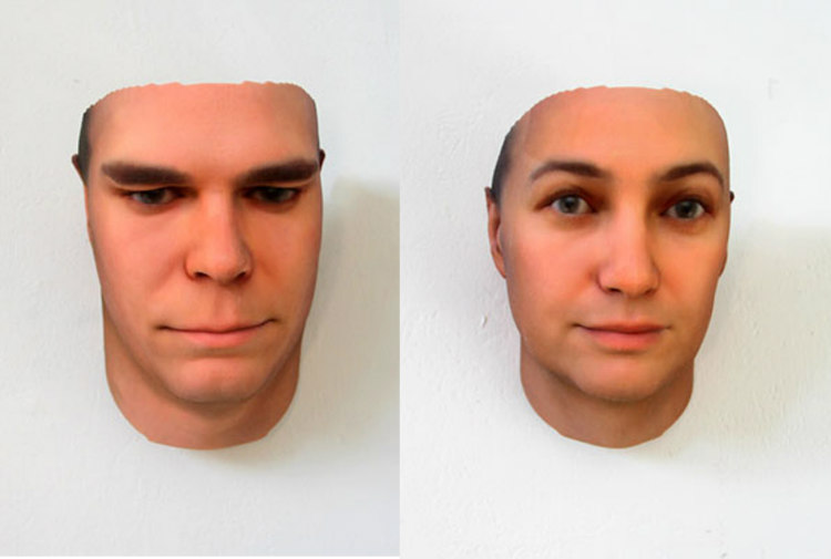 Portraits Derive from DNA