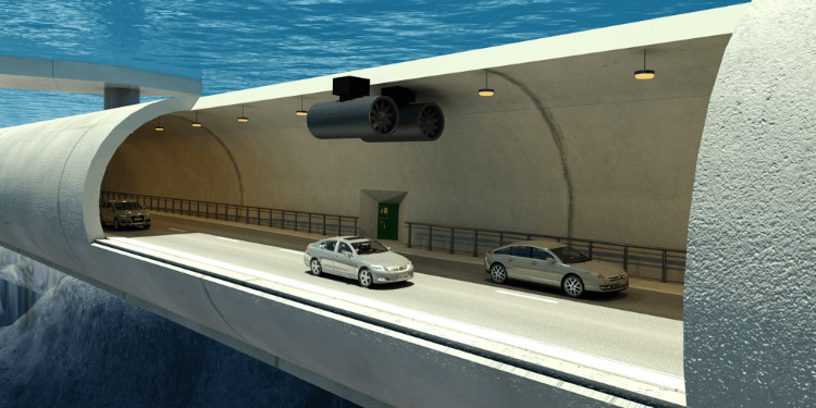 Underwater Traffic Tunnels