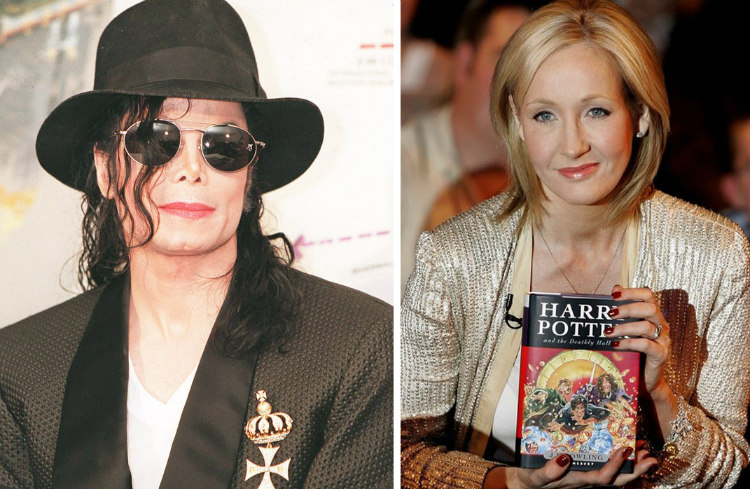 MJ and J. K Rowling