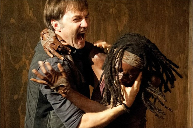 Michonne and the Governor