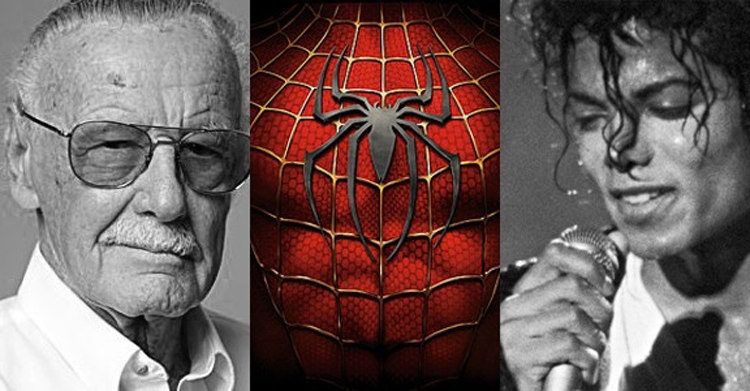 Stan Lee, Michael and Spider-Man