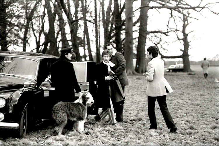 The Beatles and Dogs