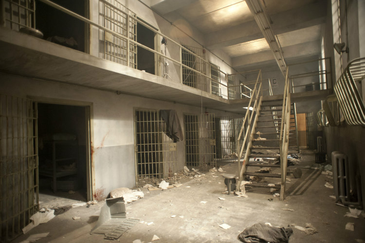 The Prison from The Walking Dead