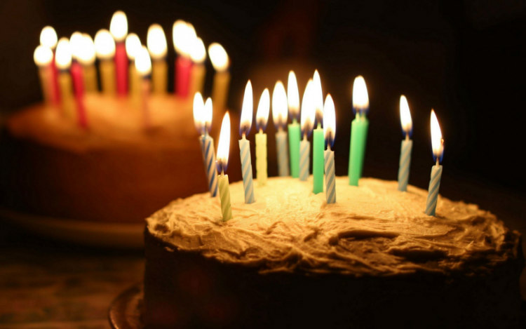 Ancient Greeks Candles on Birthday Cakes