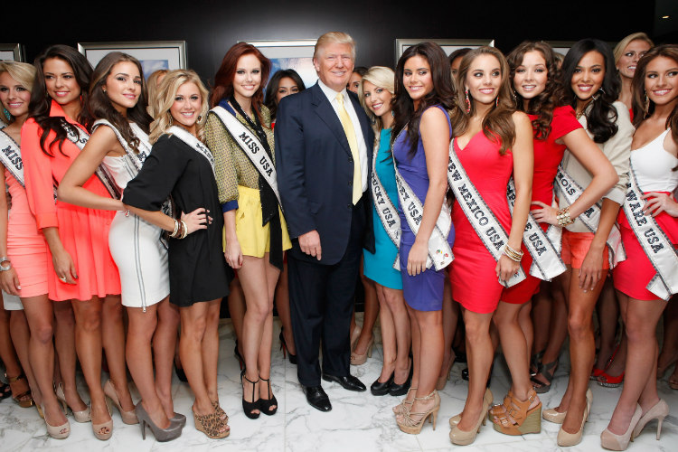 Donald Trump Beauty Pageants