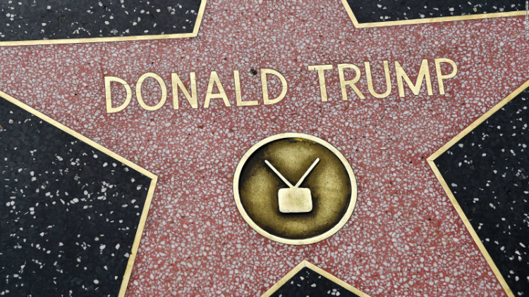 Donald Trump Hollywod Walk of Fame Star