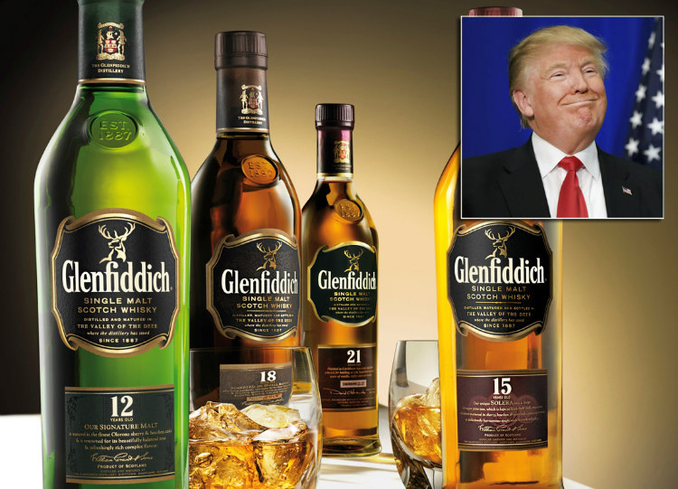 Donald Trump and GLENFIDDICH