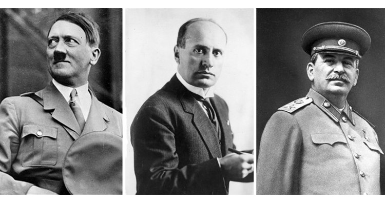 benito mussolini adolf hitler and joseph stalin