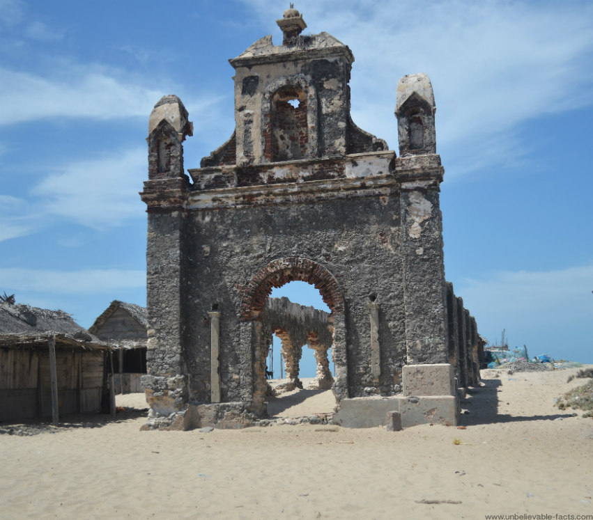 Dhanushkodi: A Ghost Town From India, Destroyed In 1964