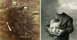 Headless Portraits from Victorian Era