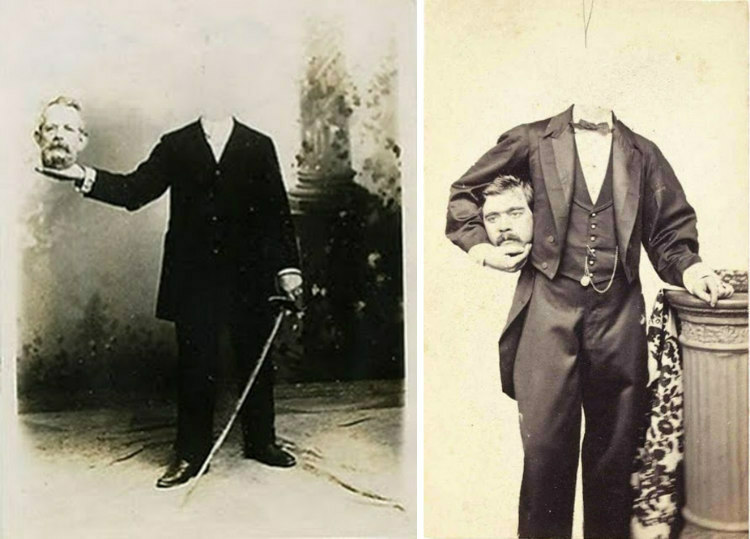 Headless Victorian Portraits