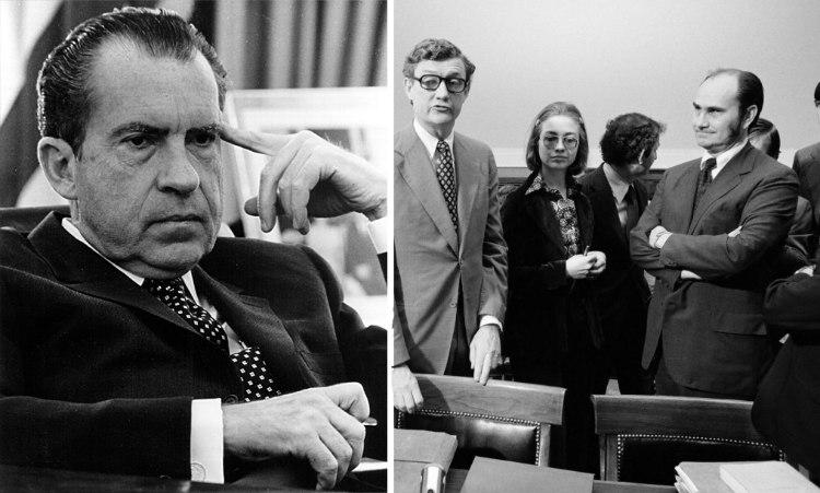 Hillary Clinton at Nixon's Impeachment