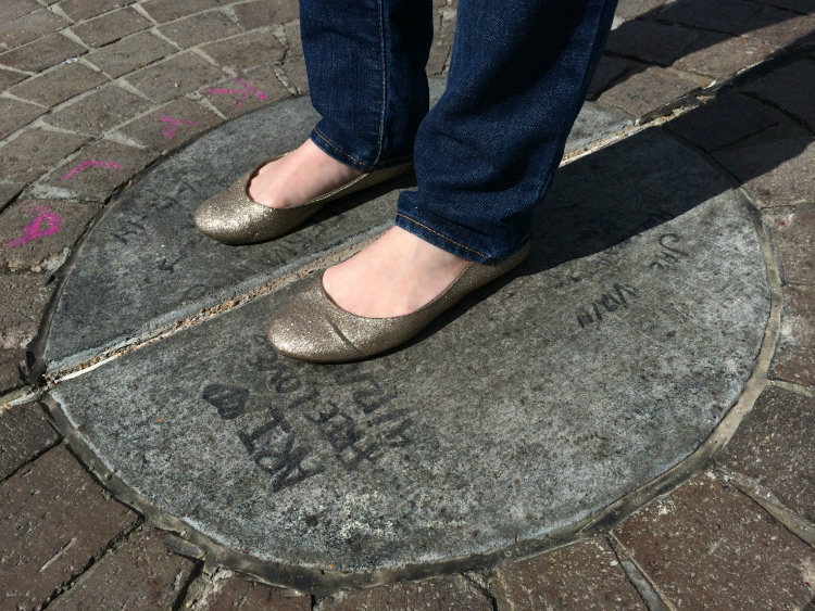 """Standing in the """"Center of the universe"""""""