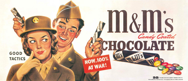 M&Ms During WWII