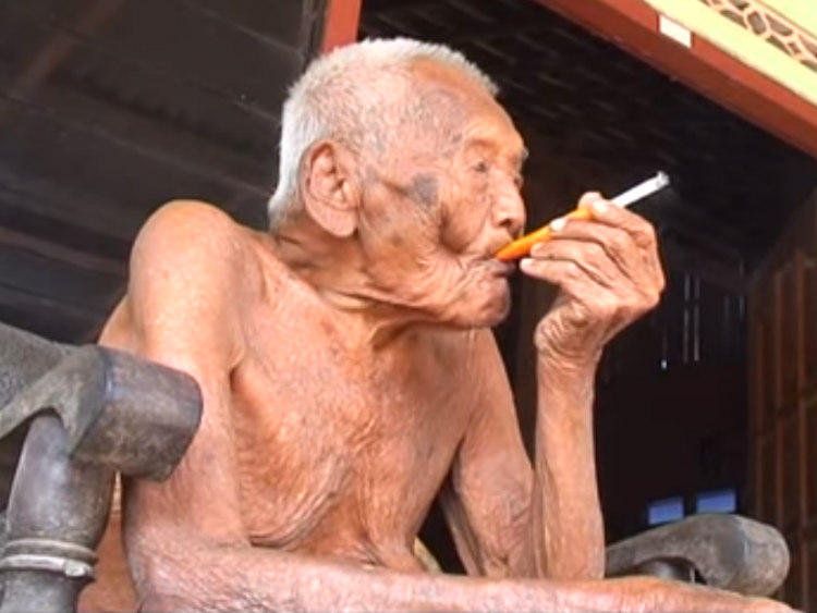 Mbah Gotho - World's Oldest Person