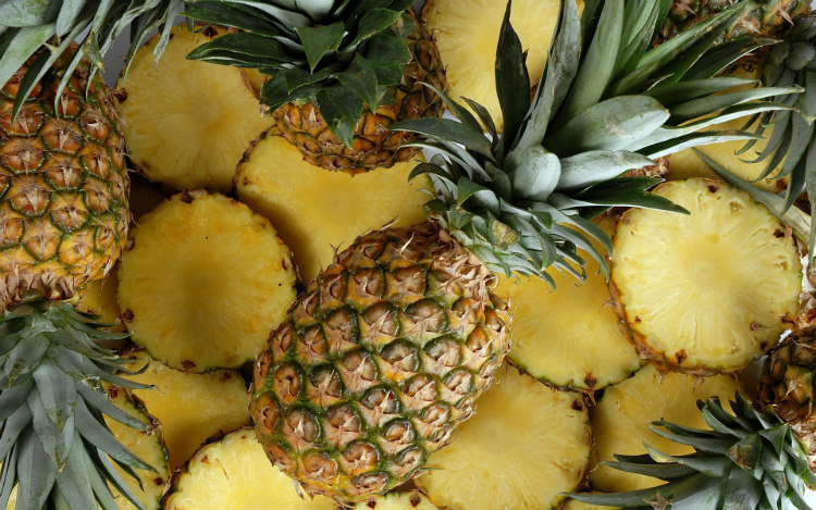 Pineapples in Colonial Times
