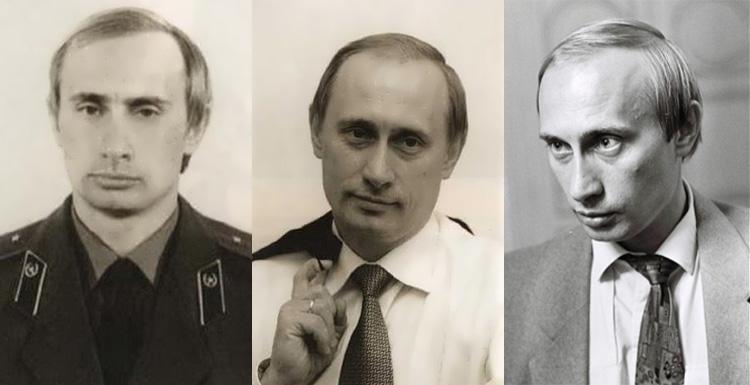 Fotografie z čias pôsobenia v KGB