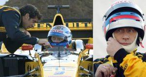 Putin took a test drive of a Renault Formula