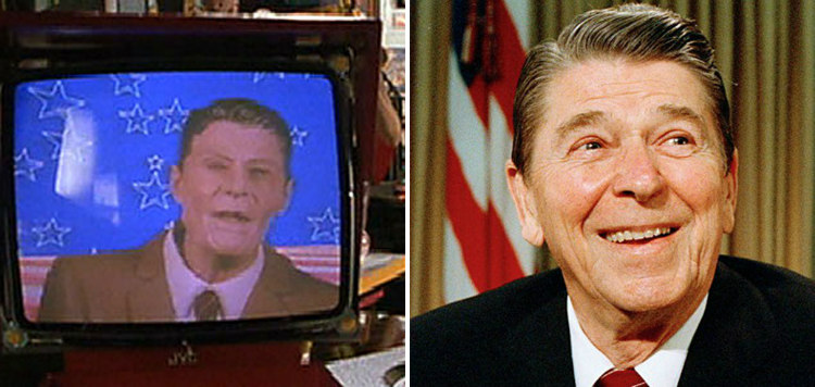 Ronald Reagan and Back to the Future