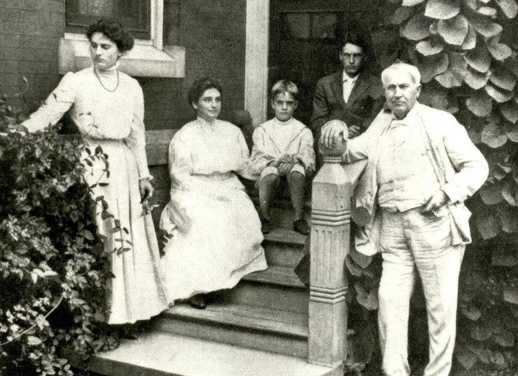Thomas Edison and Family