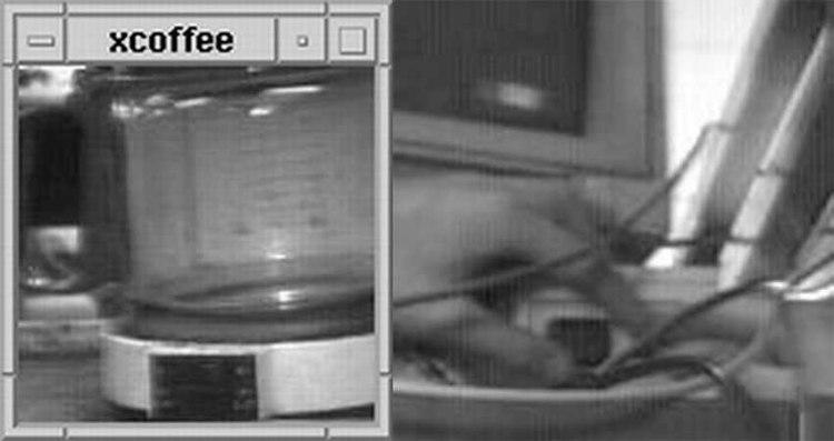 Trojan Room Coffee Pot and Webcam
