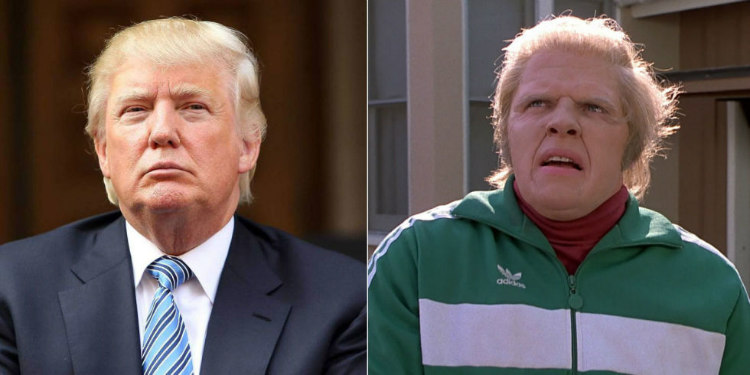 Trump Inspired Biff Tannen in Back to the Future