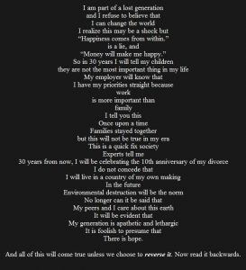 The lost generation poem