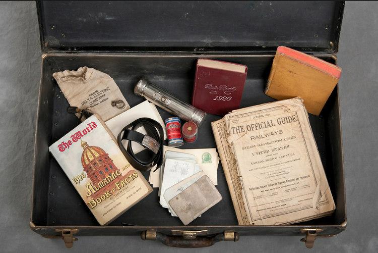 Abandoned Suitcases of Willard Asylum