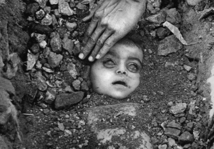 Burial of Unknown Child, Bhopal