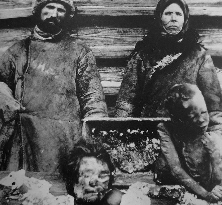 Cannibalism During Russian Famine