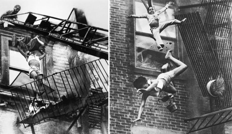 Fire Escape Collapse