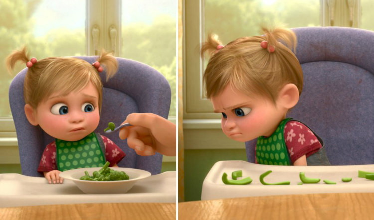 Inside Out - Broccoli and Bell Peppers