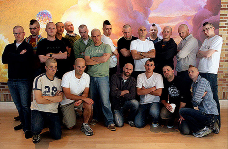 Pixar Animators Shaved Heads