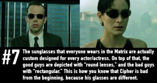 Facts about the matrix