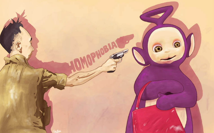 Against Homophobia by Luis Quiles