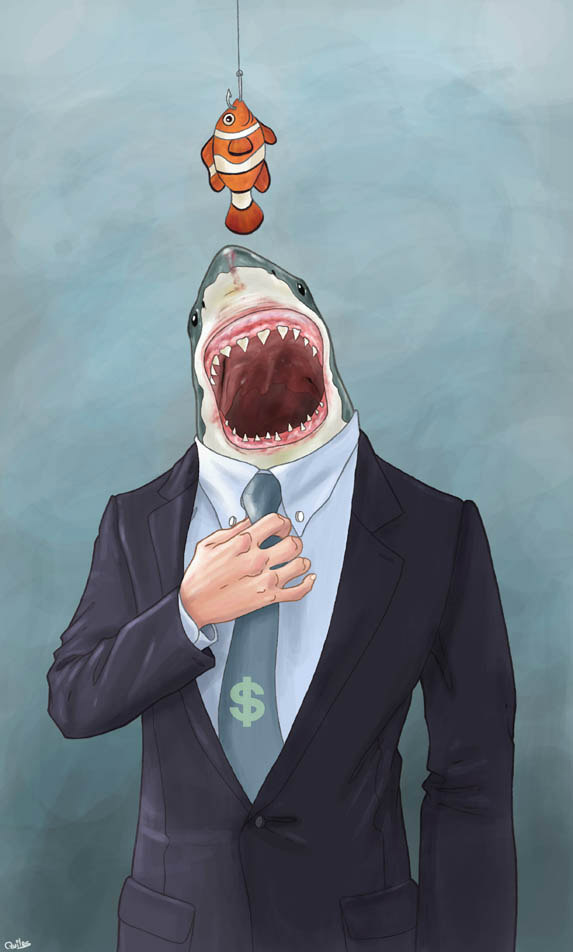 Big Fish by Luis Quiles