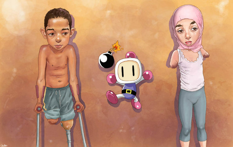 Bomberman by Luis Quiles