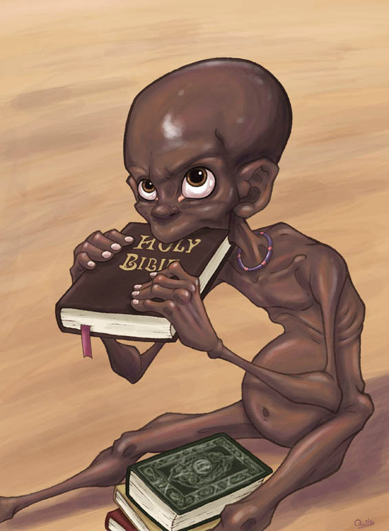 Do Not Give Me a Holy Book, Give Me a Holy Sandwich by Luis Quiles