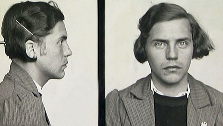 Mug Shots of Dora Ratjen