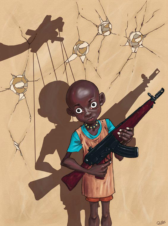 Kid Soldier by Luis Quiles