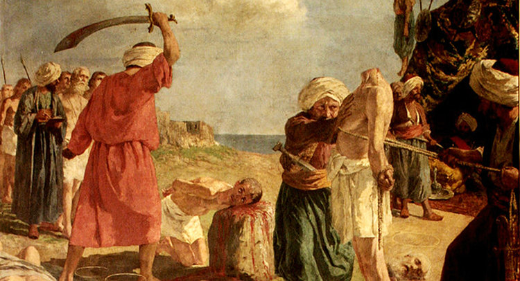 Beheading of Antonio Primaldi and His Companions