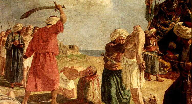 Beheading of Antonio Primaldi and His Companions