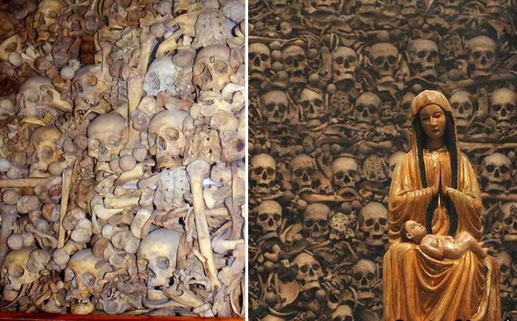 Skull and Bone Relics of the Martyrs
