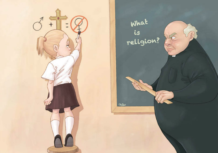 Teaching Religion by Luis Quiles