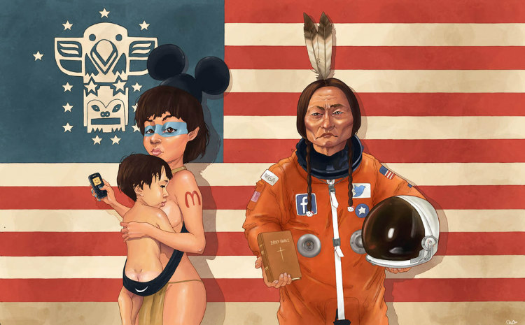 We're All Living in Amerika by Luis Quiles