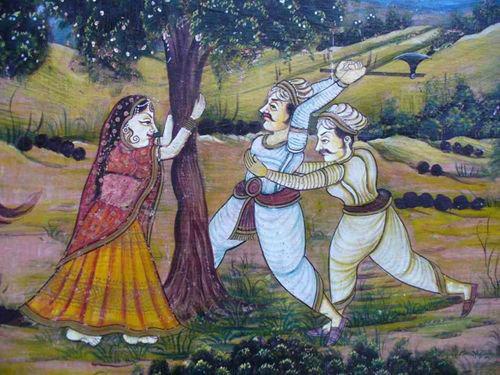 Amrita Devi protection trees