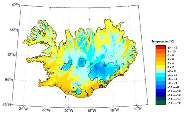Icelandic Climate